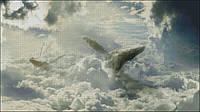 """Схема для вышивания """"Небесные Киты """""""