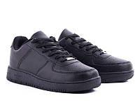 Классические черные мужские кроссовки р40-45(р40-26,5см)