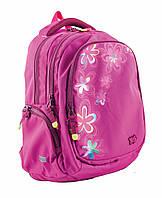 553111 Рюкзак підлітковий Т-24 Hologram Flowers, 43*30*15