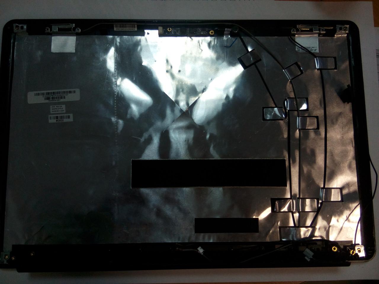 Крышка матрицы HP CQ 61 ZYE3D0P6TP с камерой, микрофоном и антеной
