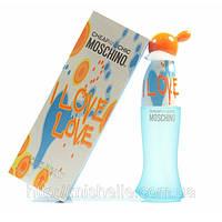 Туалетная вода для женщин Moschino Cheap & Chic I Love Love (Москино Лав Лав)