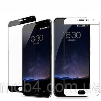 Защитное стекло для Meizu (Мейзу) M5 Note черное и белое
