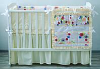 """Детское постельное из хлопка """"Волшебный сад"""" (120х60), фото 1"""