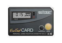 Дозиметр ДКГ-21 Ecotest CARD