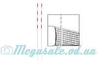 Антенна для сетки волейбольной 5259, 2 шт в комплекте: длина 1,8м, диаметр 10мм