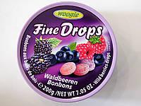 Конфеты Fine Drops Waldbeeren со вкусомлесных ягод 200 г