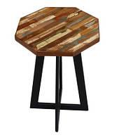 Табурет small stool RAE1. В стиле Лофт. Ручная работа. Сделано в Индии.