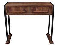 Консольный столик console table RAE23. В стиле Лофт. Ручная работа. Сделано в Индии.