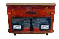 Барная стойка TATA counter RAE37. В стиле Лофт. Ручная работа. Сделано в Индии.