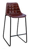 Стул барный bar chair RAE38. В стиле Лофт. Ручная работа. Сделано в Индии.