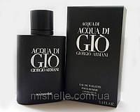 Мужской парфюм Giorgio Armani Acqua Di Gio Black Pour Homme (Аква Ди Джио Блэк Пур Хом)