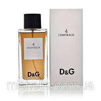 Мужской парфюм Dolce & Gabbana Anthology L'Empereur 4 (Дольче Габбана Антологи Империор 4)