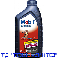 Моторное масло Mobil Ultra 10W-40 (1л)