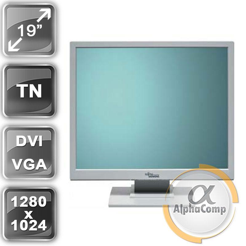 """Монитор 19"""" Fujitsu A19-2A (PVA/5:4/VGA/DVI/колонки) class A БУ"""