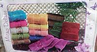 Комплект махровых полотенец 50*90см.Турция