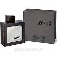 Мужская туалетная вода Dsquared He Wood Silver Wind Wood (Дискваред Хи Вуд Сильвер Винд Вуд)