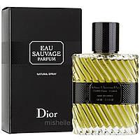 Мужская парфюмированная вода Christian Dior Eau Sauvage Parfum (Кристиан Диор Эу Саваж Парфюм)