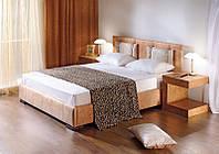 Кровать двухспальная с изголовьем Диана