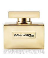 Женский парфюм Dolce&Gabbana The One Gold Limited Edition (Дольче Габбана Зе Ван Голд Лимитид)
