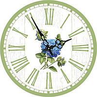 Часы круглые настенные ГОРТЕНЗИЯ 60 см d6022
