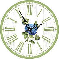 Годинники настінні круглі ГОРТЕНЗІЯ 60 см d6022