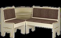 """Кухонный уголок с баром комплект мягкий размер 87х115х156 см """"Юля"""""""