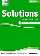 Книга для учителя Solutions Elementary, второе издание, Tim Falla | Oxford ()