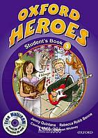 Учебник с диском Oxford Heroes 3, Jenny Quintana | Oxford