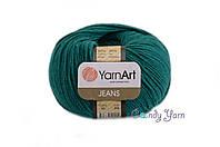 Турецкая пряжа YarnArt Jeans изумруд №63