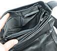 Вертикальная кожаная сумка Always Wild 787 SPN black, фото 9