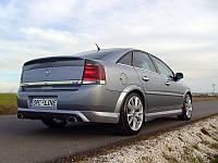 Спойлер сабля тюнинг Opel Vectra C стиль OPC
