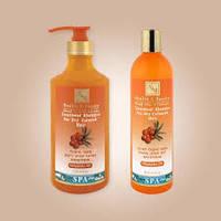 Шампунь для сухих и окрашеных волос с маслом облепихи 780 мл, израильская косметика Health&beauty