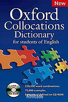 Словарь Oxford Collocations Dictionary for students of English, Colin McIntosh   OXFORD