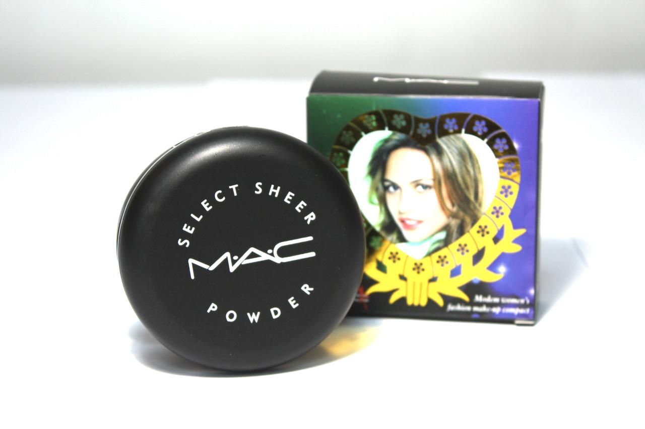Компактная двойная медовая пудра для лица MAC
