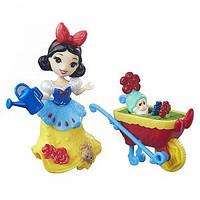 DPR Игровой набор маленькая кукла Принцесса Белоснежка с аксессуарами, B5334&B7163