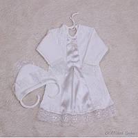 """Нарядная рубашка для крестин """"Даниила"""" айвори, фото 1"""