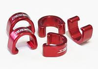 Клипсы KREX для крепления рубашек и гидролиний, красные