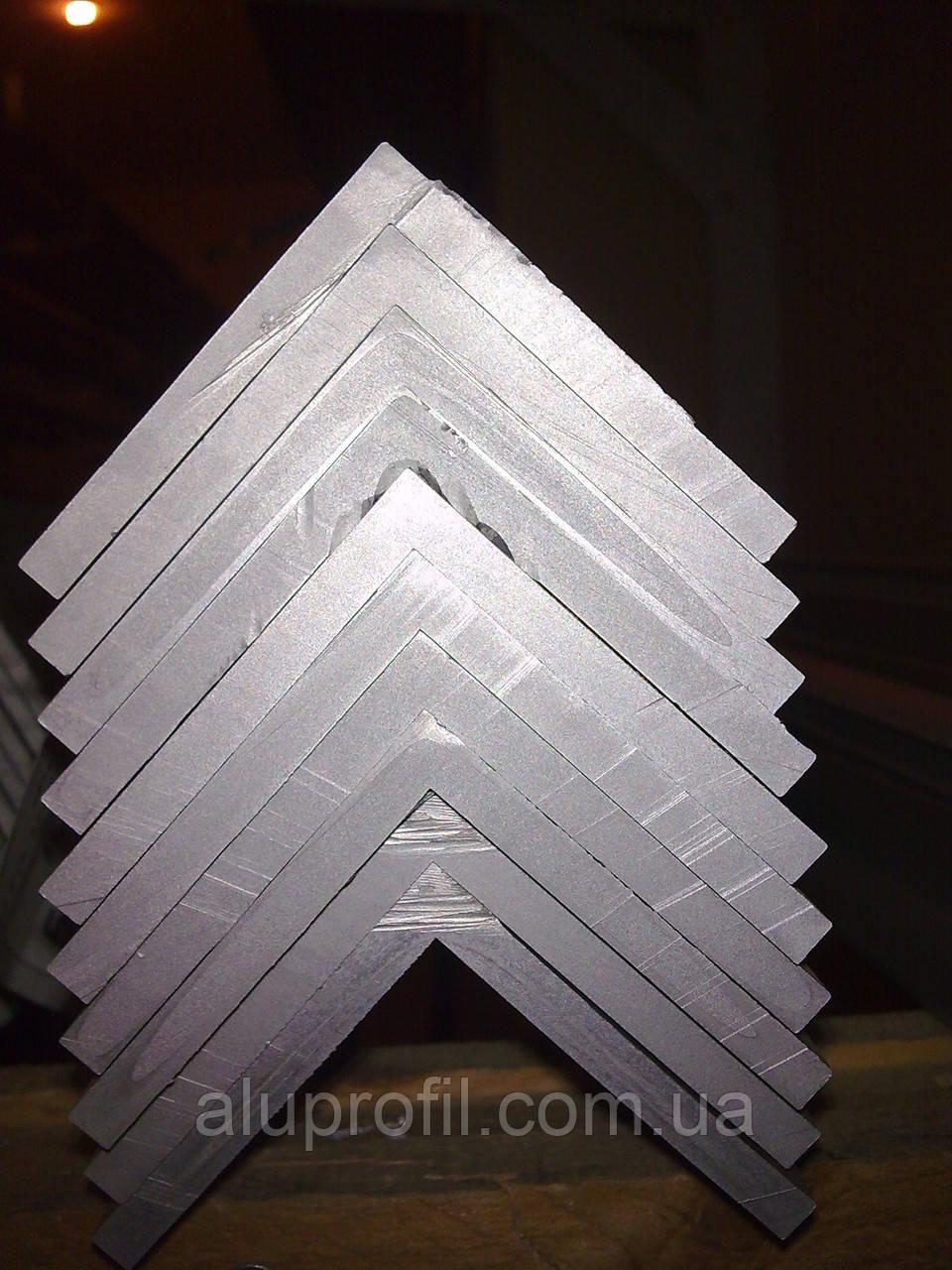 Алюминиевый профиль — уголок алюминиевый 50х50х5