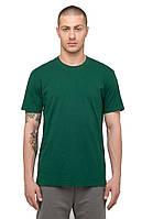 Футболка однотонная Зеленая 160г/м². 100% хлопок, опт.
