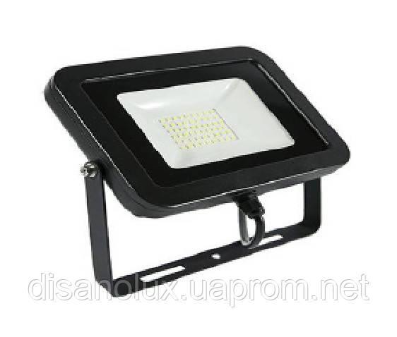 Прожектор LED DL-4008-70вт белый/черный