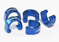 Клипсы KREX для крепления рубашек и гидролиний, синие
