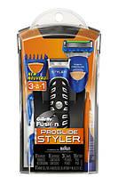 Бритва-стайлер Gillette Fusion ProGlide Styler (1 сменная кассета ProGlide Power + 3 насадки для моделирования