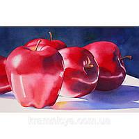 Картина по номерам Роспись на холсте Яблука КН2026 40*50 см