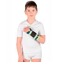 Бандаж детский лучезапястный сустав с фиксацией большого пальца Т-8330  Тривес