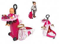 """Игровой набор Baby Nurse Smoby """"Раскладной чемодан"""" с аксессуарами (220316)***"""