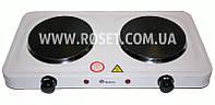 Электрическая настольная плитка - Domotec MS-5822 1000W (2 нагревательные поверхности)