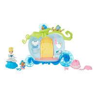 """DPR Игровой набор для маленьких кукол Принцесс """"Карета Золушки"""", B5344"""