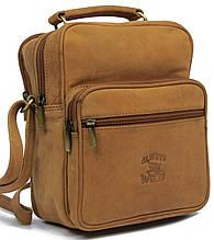 Кожаная сумка для города  Always Wild LB07CH рыжий