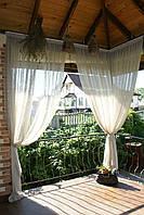Шторы для террас с пропиткой - Антимоскитные шторы. фиолетовый