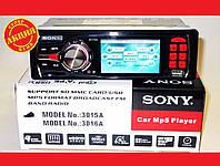 Автомагнитола Sony 3015А Video экран LCD 3'' USB+SD, фото 1